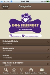 dogfriendly - location based app for dog owners