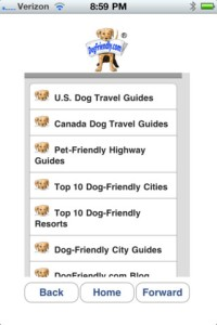 dogfriendlymobile - dog lover apps for new yorkers